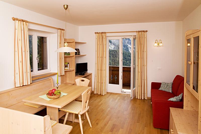 Appartamento Reh nel Schopplhof nelle Dolomiti Alto Adige